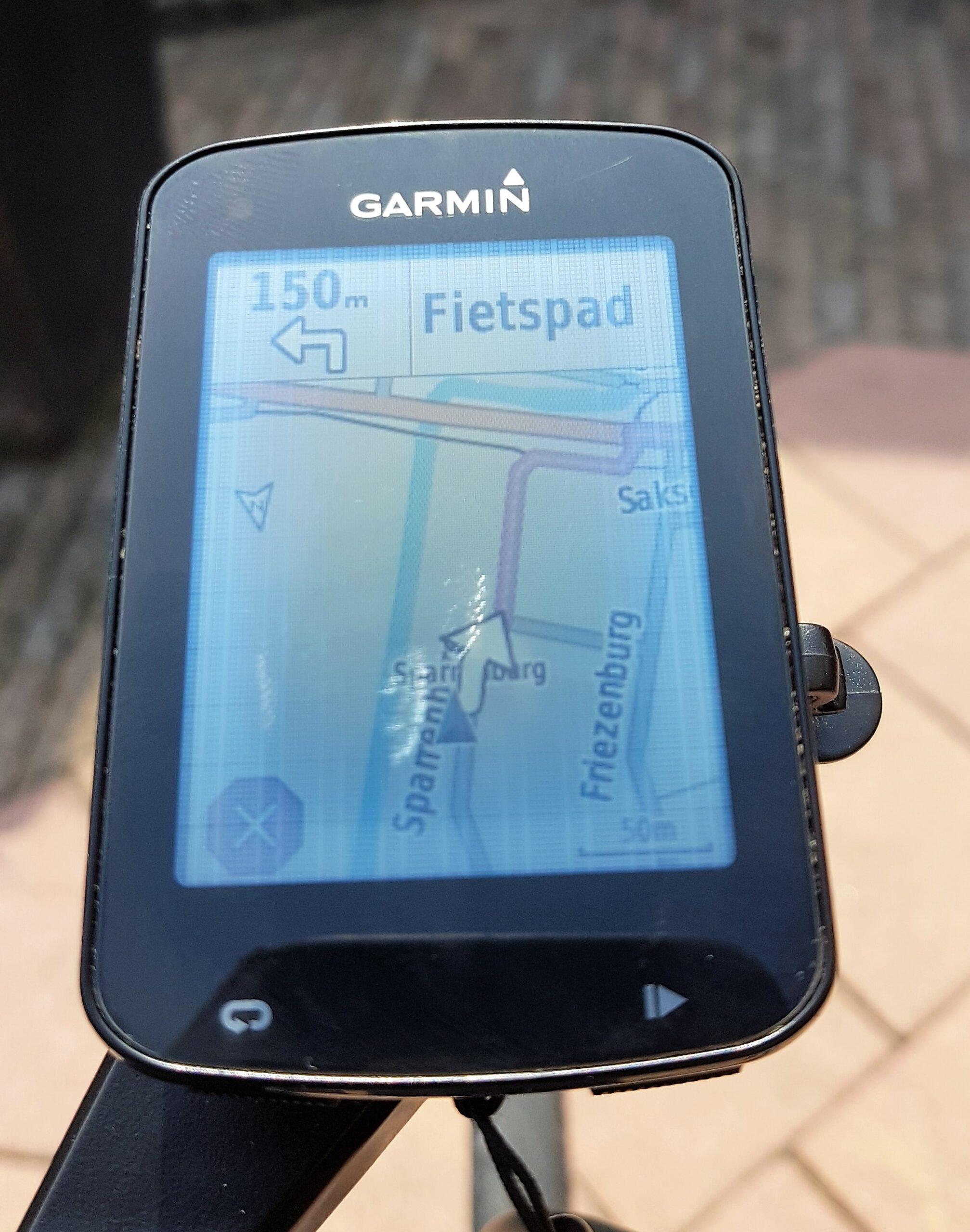 scherm garmin edge 820 2